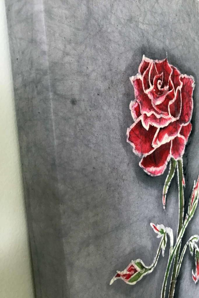 Batik Rose 2