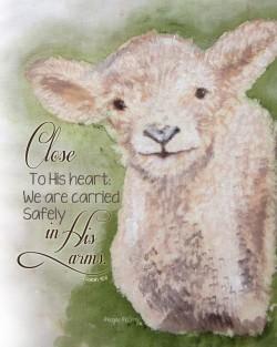 little-lamb-print