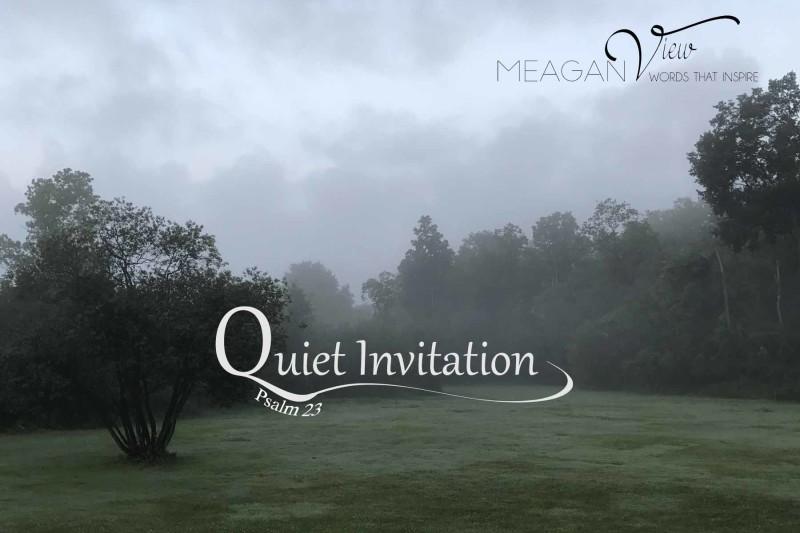 quiet invitation